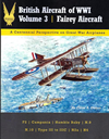 British Aircraft of WWI Vol.3 Fairey Aircraft
